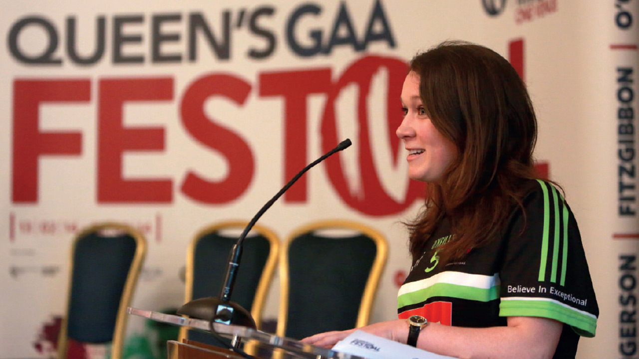 Queens GAA Festival Launch
