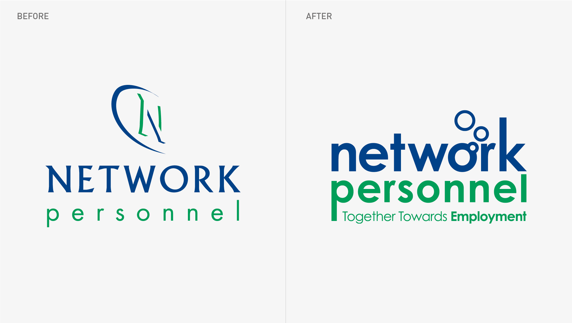 Network Personnel Corporate Identity Update