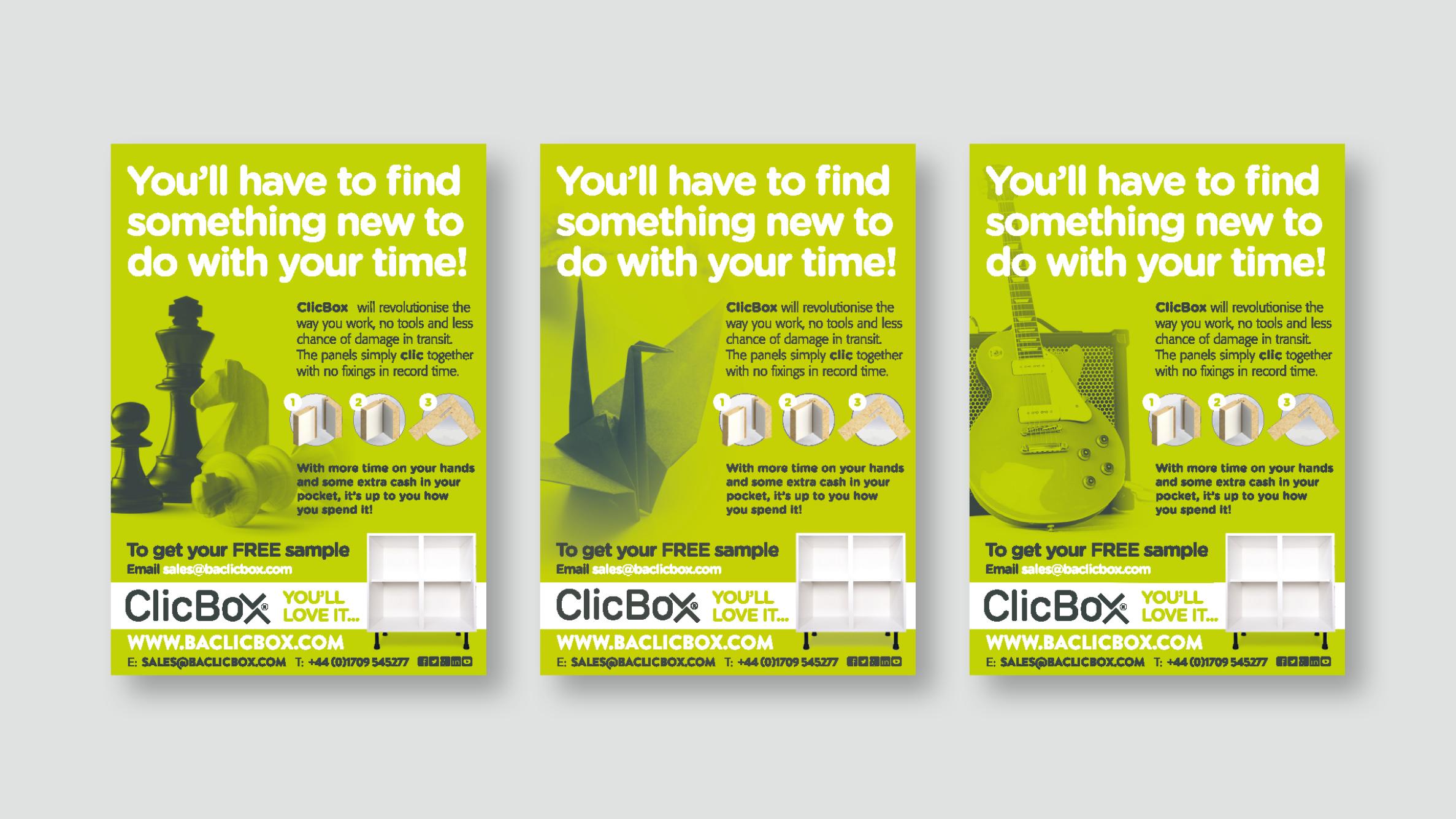 ClicBox Brochure Spread