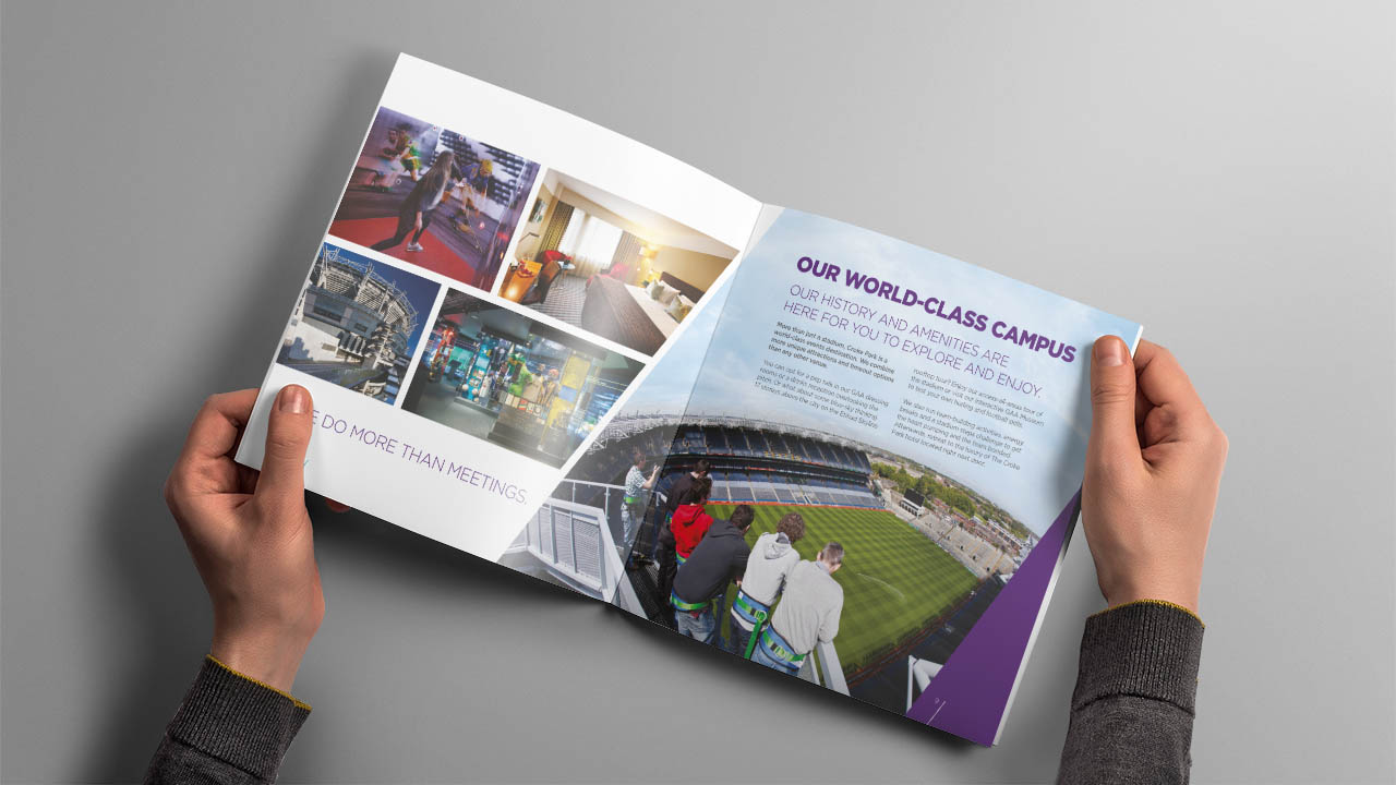 Croke Park Meeting and Events Brochure Spread