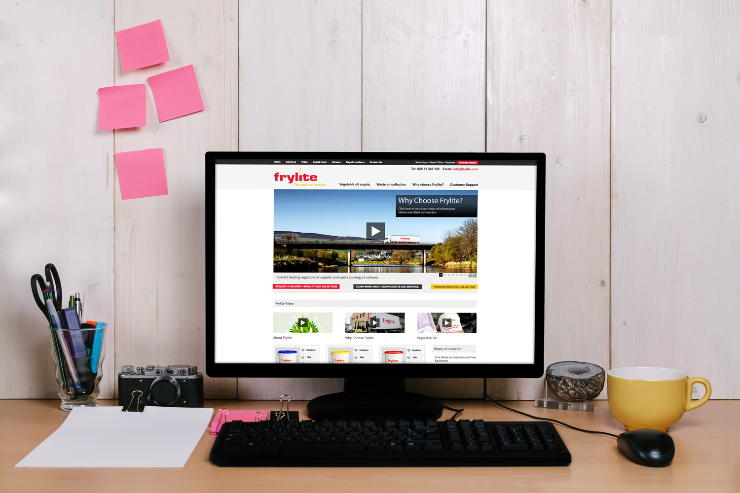 Frylite Website