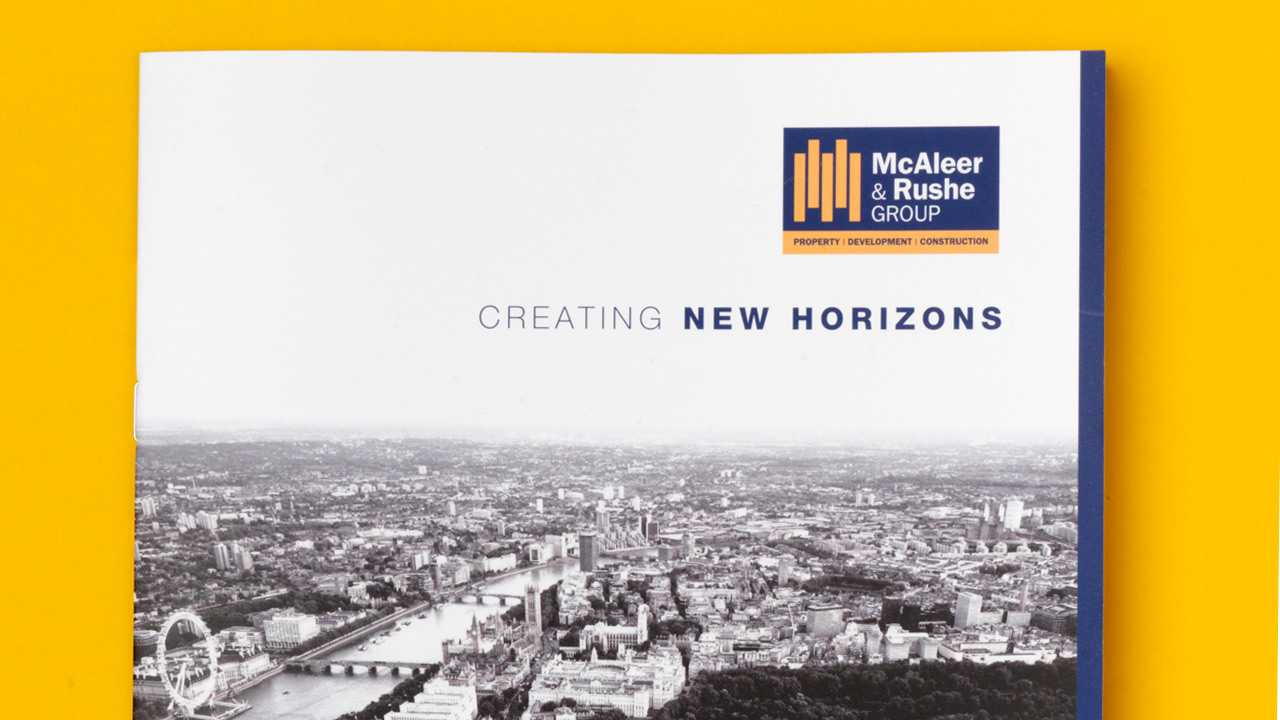 McAleer and Rushe Brochure Cover