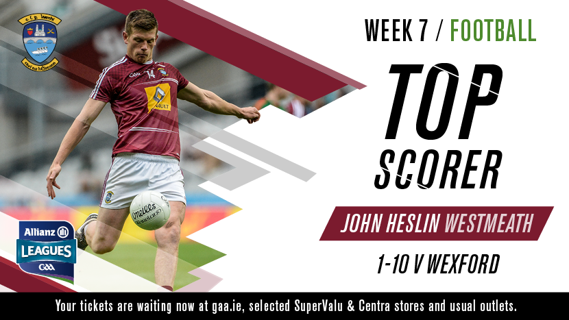 Top Scorer - Football - John Heslin - Westmeath