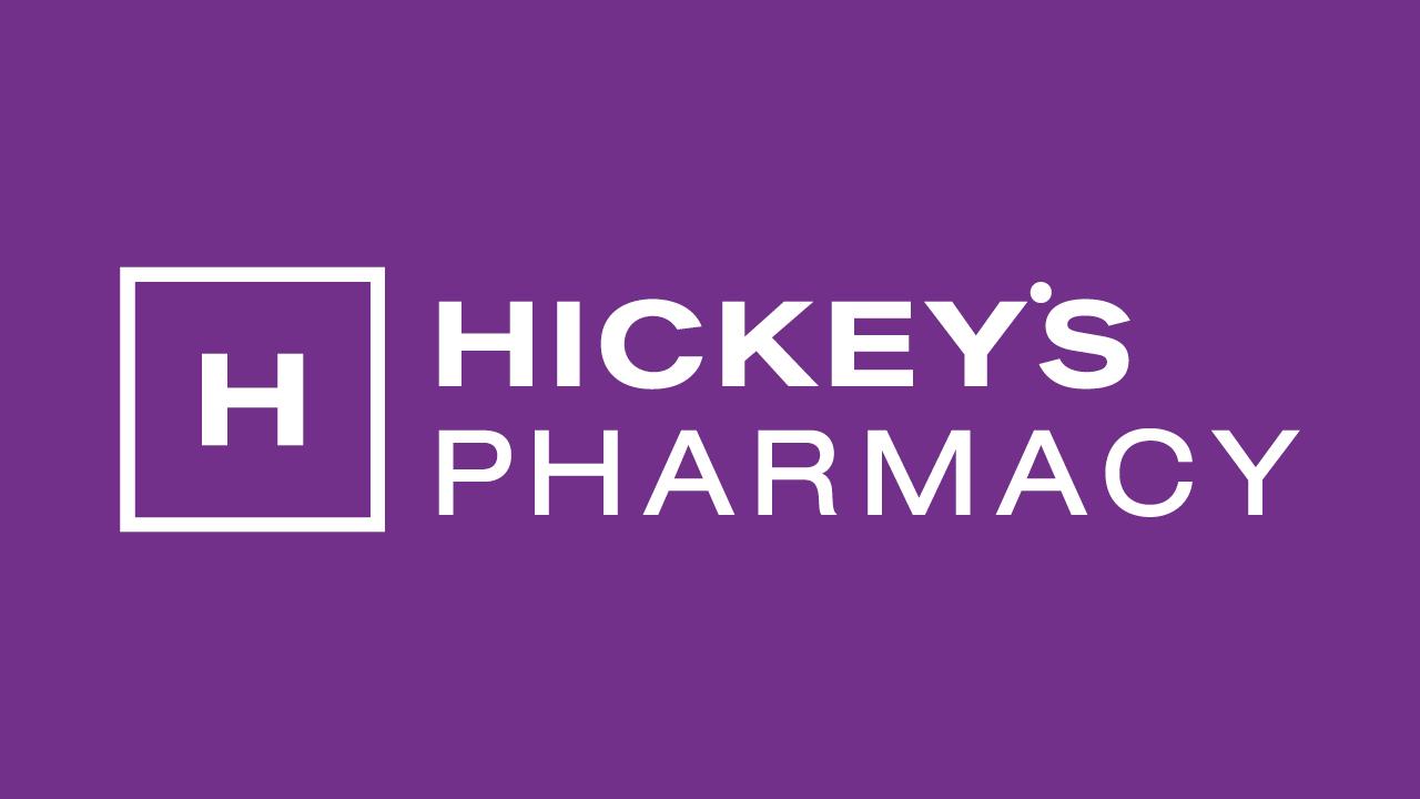 Hickey's Pharmacy Branding