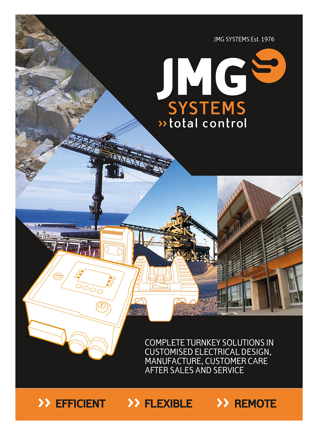 JMG Systems Brochure Cover
