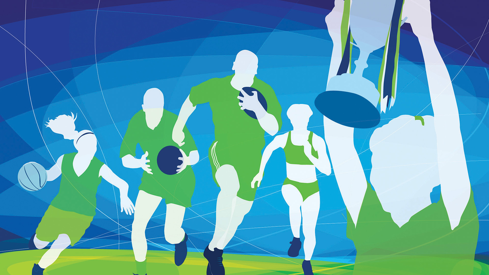 Ulster Sports Academy Illustrations