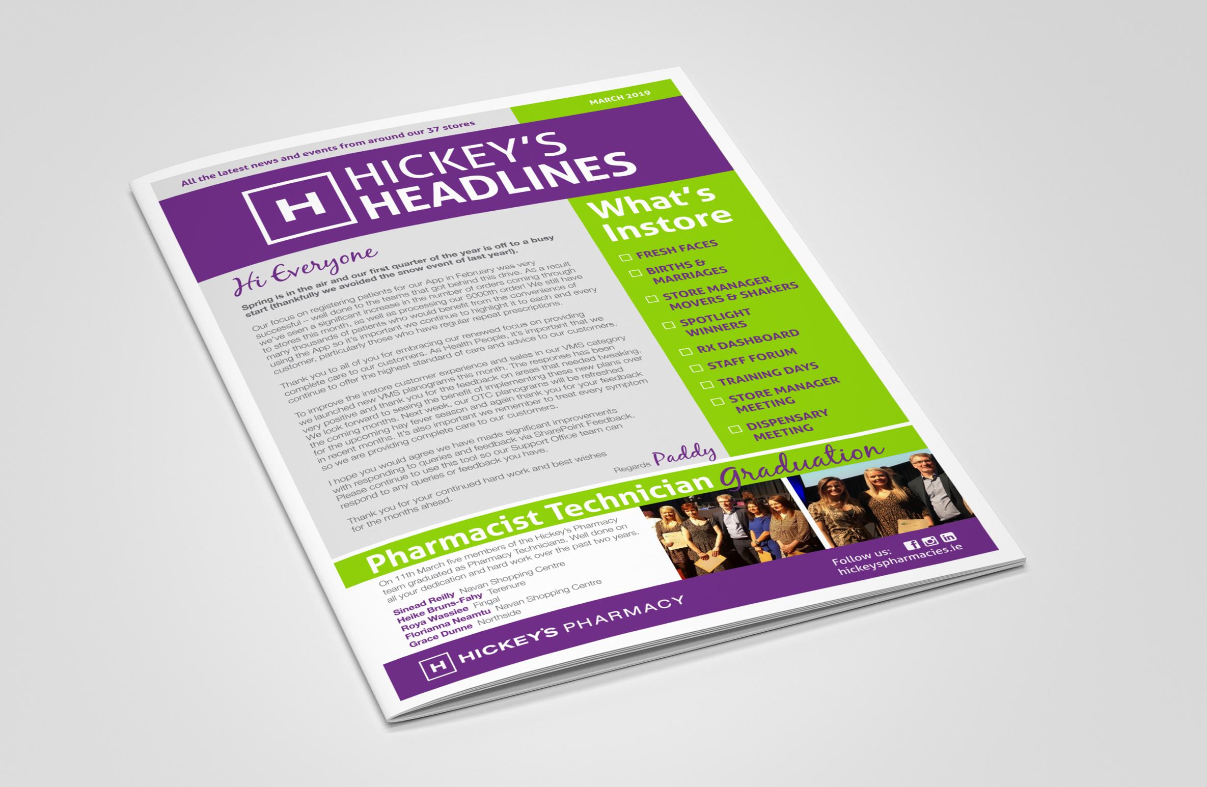 Hickeys Logos