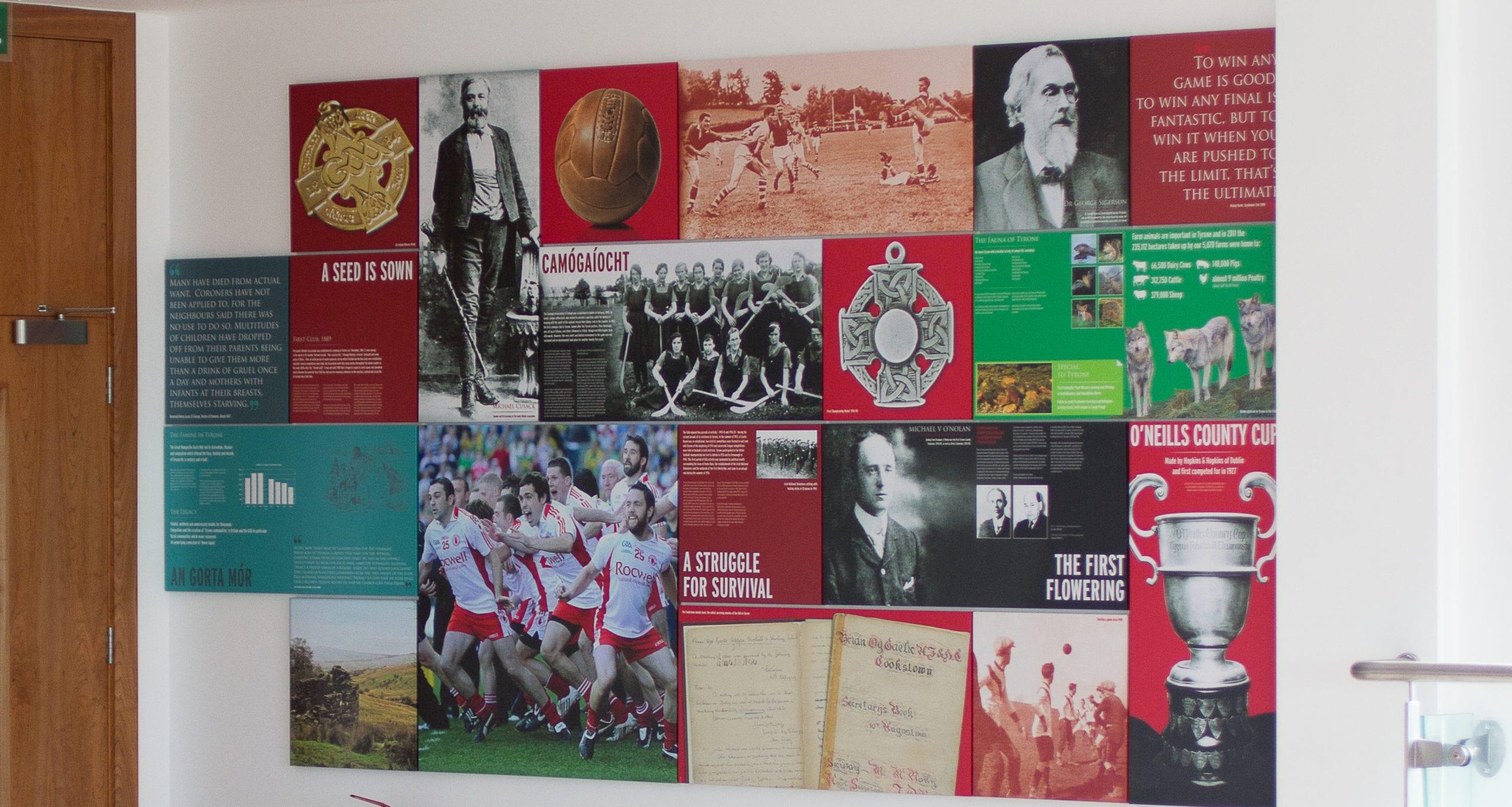 Garvaghey Info Wall