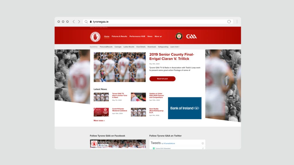 Tyrone GAA Website